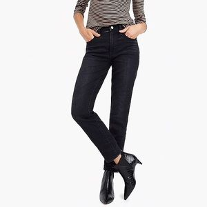 Jcrew Vintage Straight Jean Washed Black 28P EUC